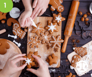 Spiced Christmas Biscuits Image