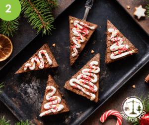 Christmas Tree Brownies Image
