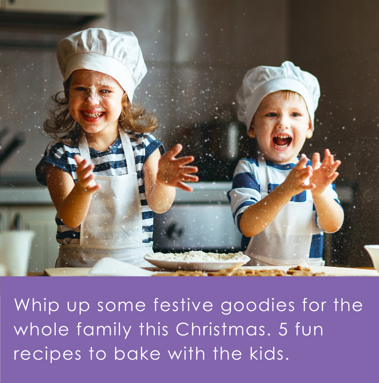 5 Festive Recipes to Bake with the Kids