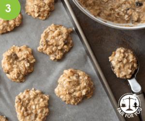 Banana Oat Cookies Image