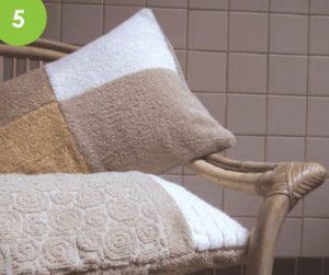 Homemade Bath Pillow Image