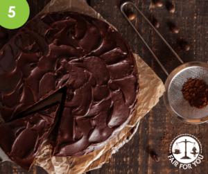 Chocolate fudge cake image