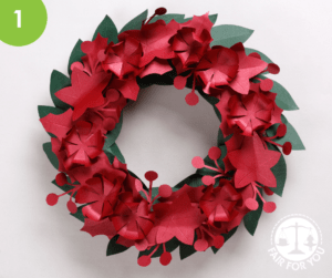 Paper Wreath Image